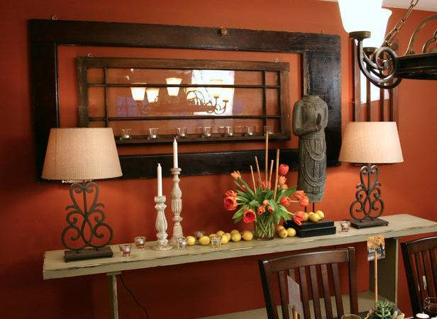 Color Roundup Using Orange Interior Design