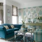 Color Scheme Turquoise Grey Eclectic Living Home