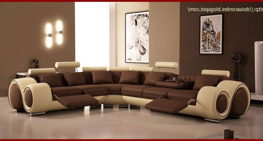Color Walls Brown Furniture Colors Living Room