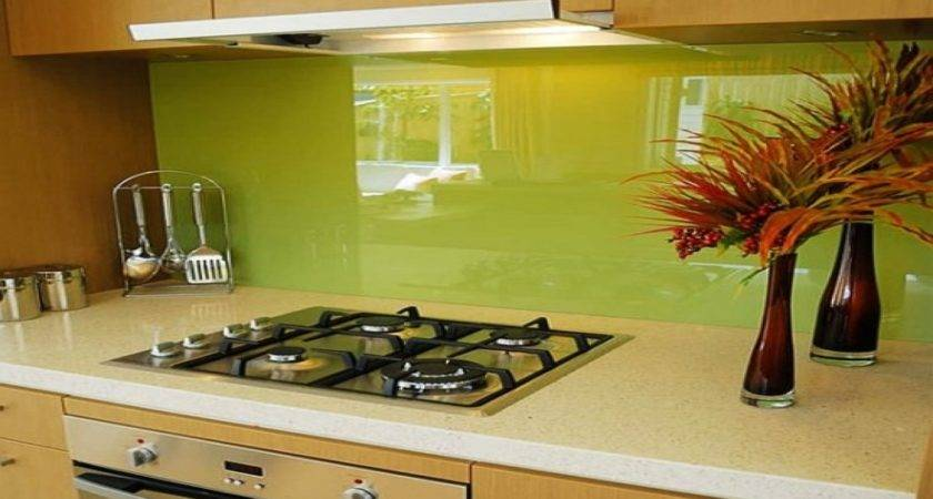 Colorful Backsplash Modern Kitchen Ideas
