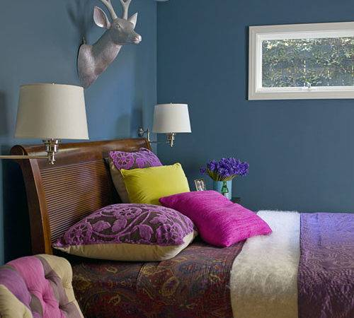 Colorful Bedrooms Color Ideas Punch Any Space