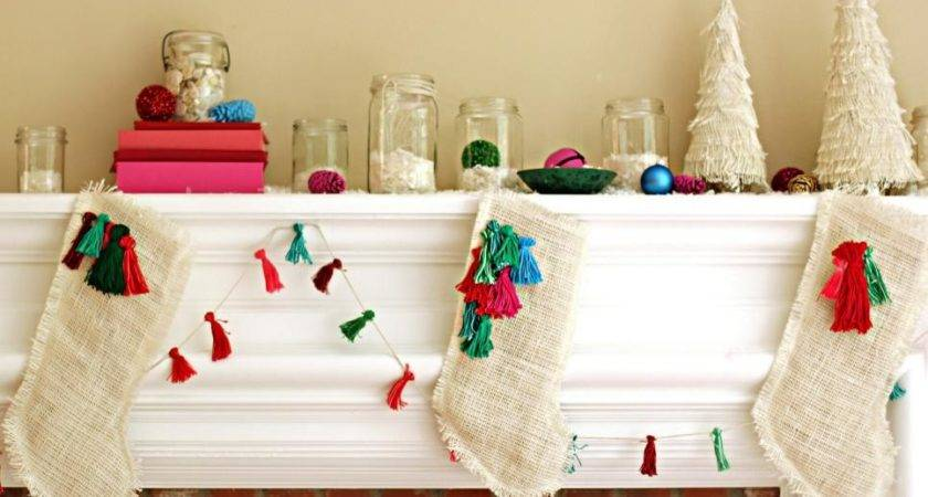 Colorful Bohemian Style Christmas Decorations Diy