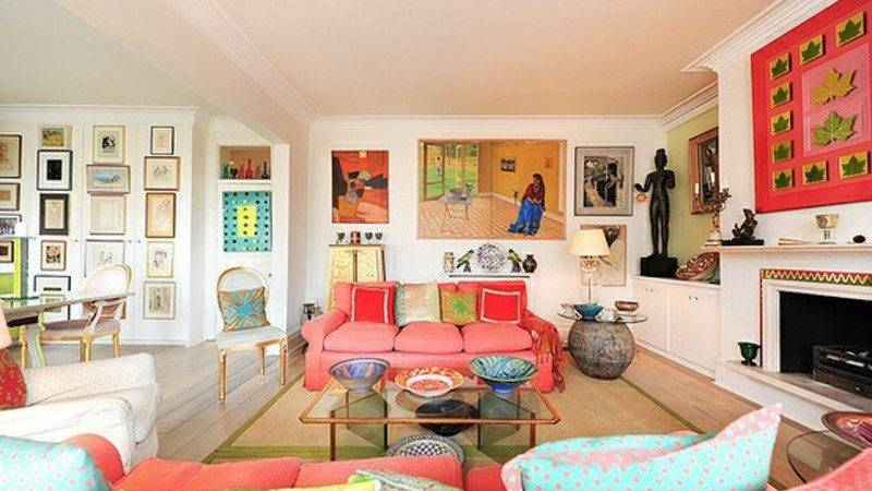 Colorful Eclectic Living Rooms