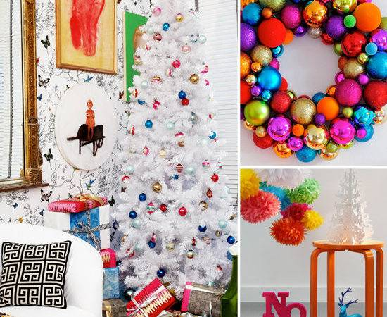 Colorful Holiday Decorating Ideas Popsugar Home
