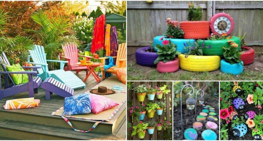 Colorful Outdoor Decor Ideas Absolutely Love