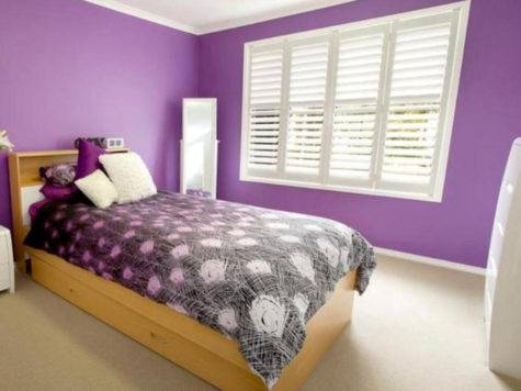 Colour Combinations Bedrooms Purple Home Combo
