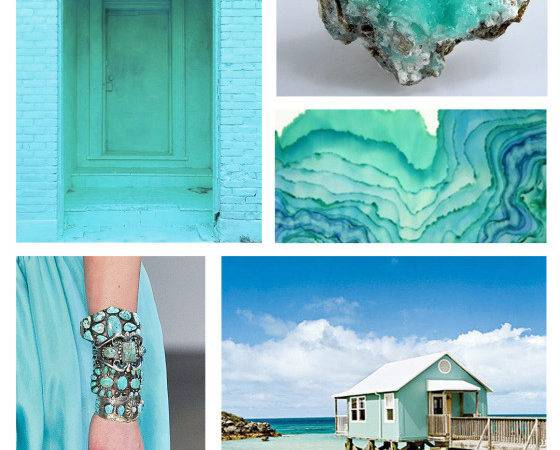 Colour Month Mexicali Turquoise Mountain Home Decor