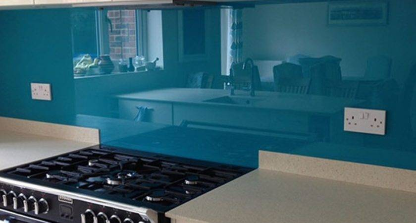 Coloured Glass Splashbacks Printed
