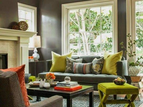 Comfortable Living Room Color Schemes Paint Ideas