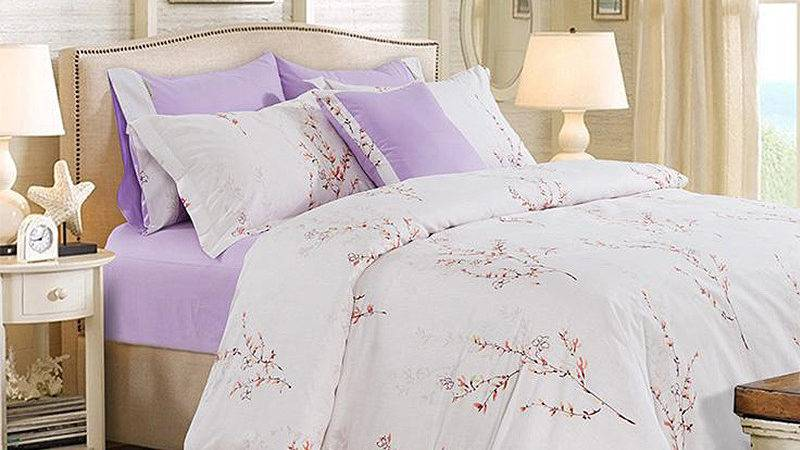 Compare Prices Purple White Comforter Shopping