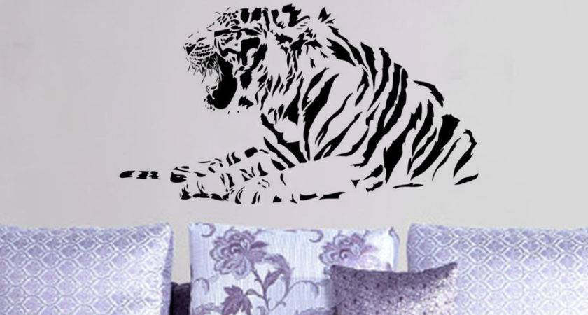 Compare Prices Tiger Bedroom Decor Shopping Buy