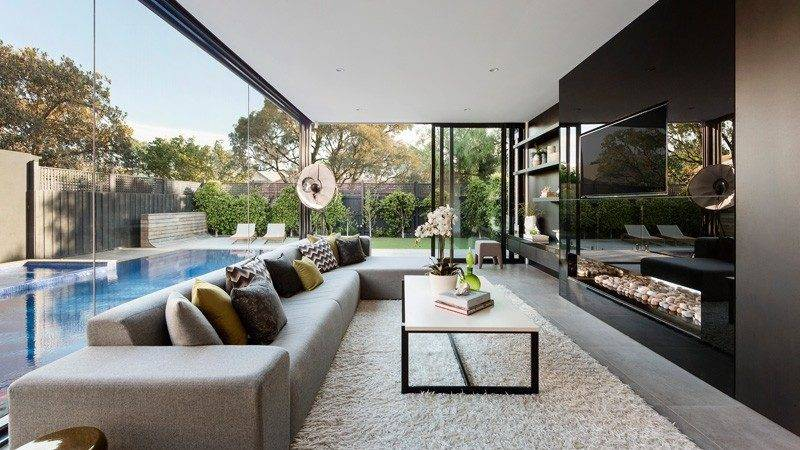 Contemporary Addition Heritage Home Melbourne