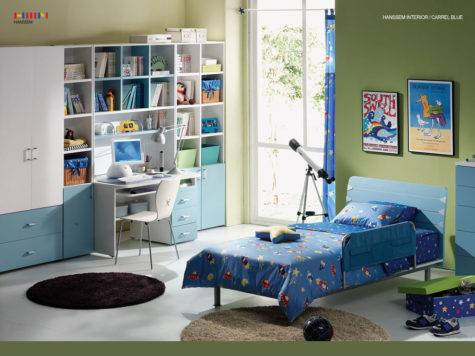 Contemporary Bedroom Design Kids Modern
