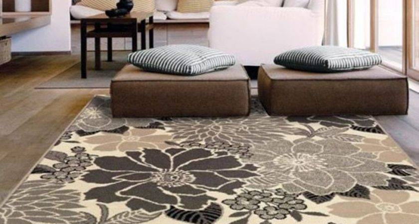 Contemporary Living Room Rug Tjihome