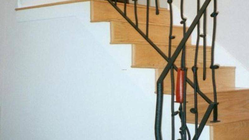 Contemporary Stair Railings Interior Wood