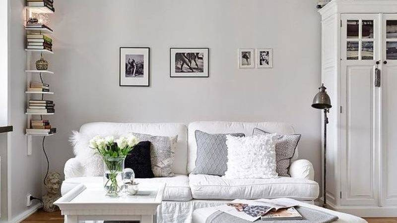 Cool All White Living Room Ideas Homes