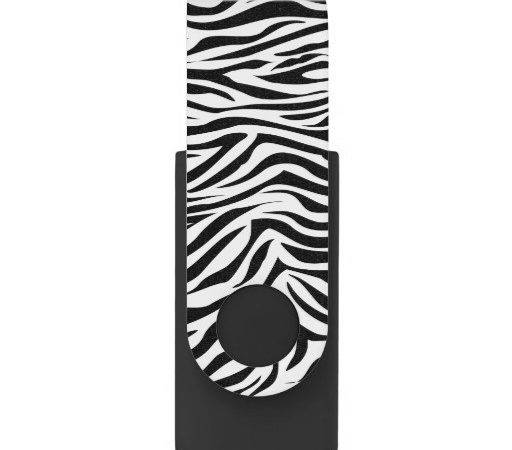 Cool Graphic Zebra Print Swivel Usb Flash Drive Zazzle