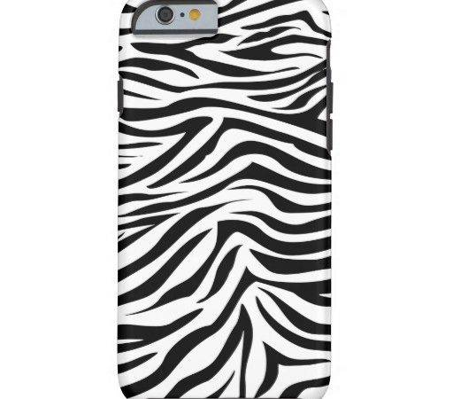 Cool Graphic Zebra Print Tough Iphone Case Zazzle