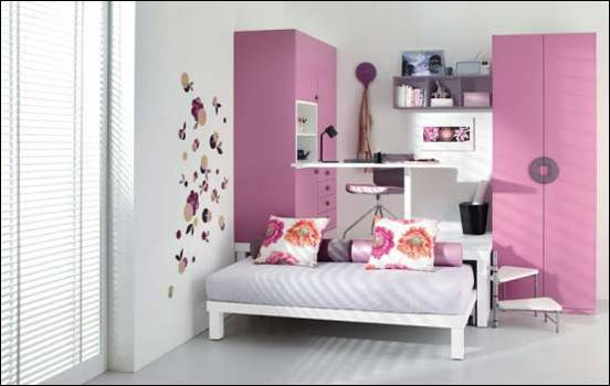 Cool Modern Teen Girl Bedrooms Exotic House Interior Designs