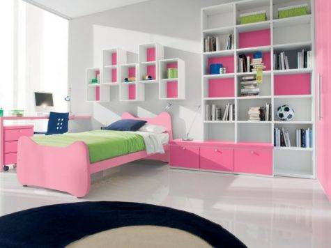 Cool Pink Girls Bedroom Designs Doimo City Line