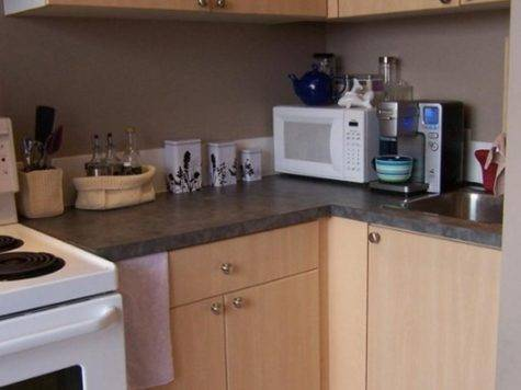 Cool Small Apartments Kitchen Decorating