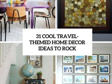 Cool Travel Themed Home Cor Ideas Rock Digsdigs
