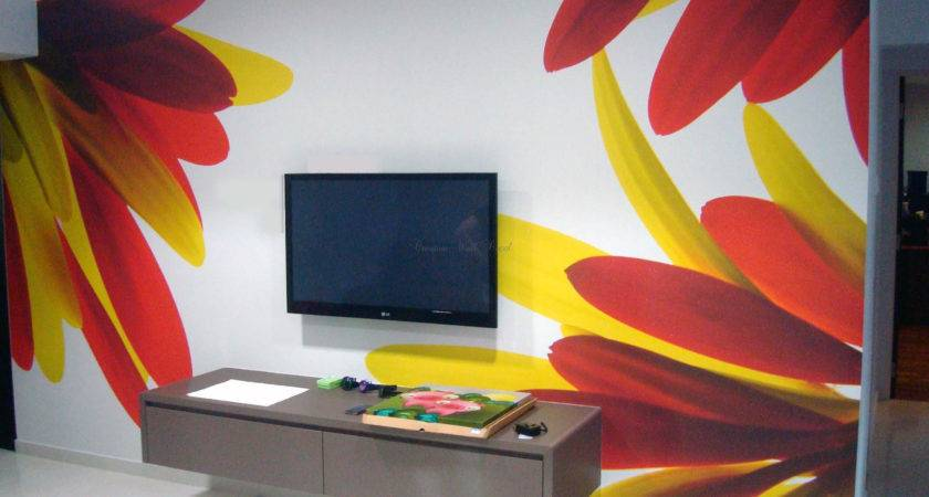 Cool Wall Painting Ideas Home Design Unique