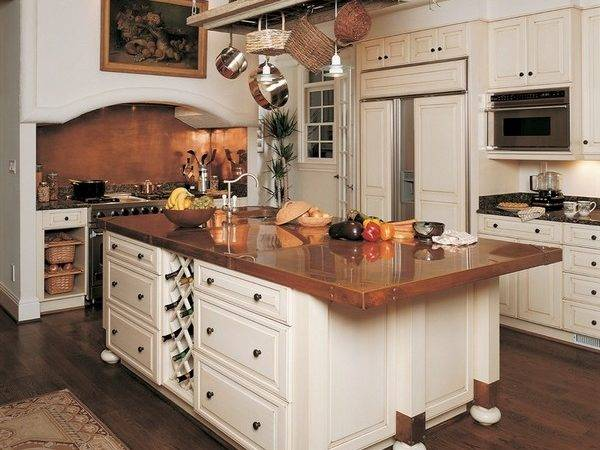 Copper Countertops Gorgeous Kitchen