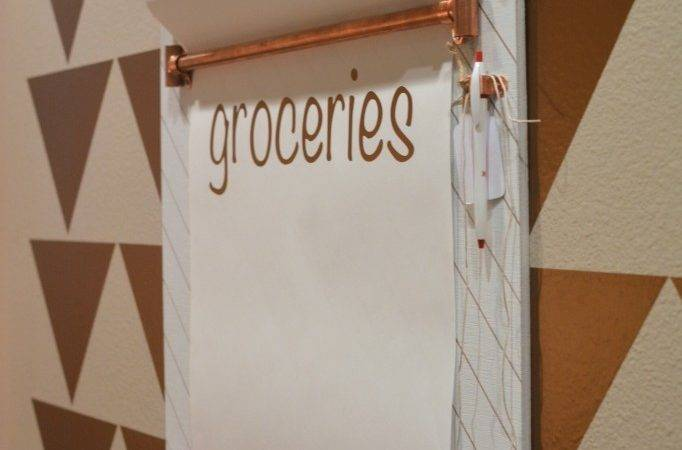Copper Grocery List Board Two Thirty Five Designs