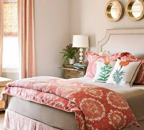 Coral Gray Bedroom Love Sublime Decorsublime Decor
