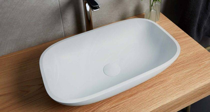Corian Bathroom Countertop Integrated Sink