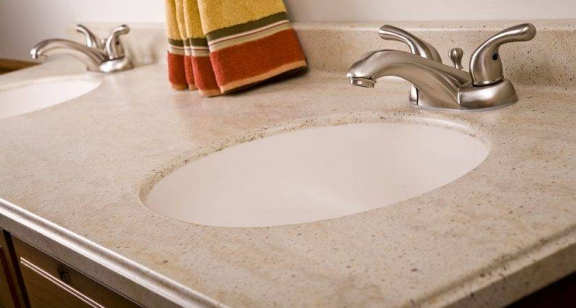 Corian Integrated Bathroom Sink Escort