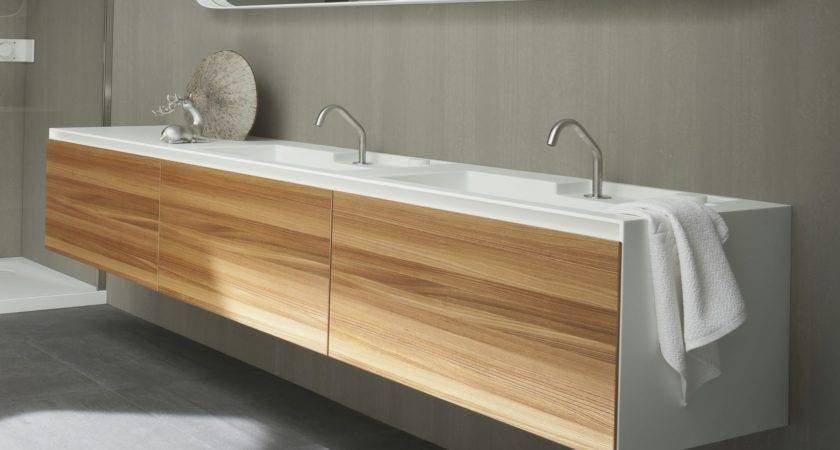 Corian Integrated Bathroom Sink Ideas