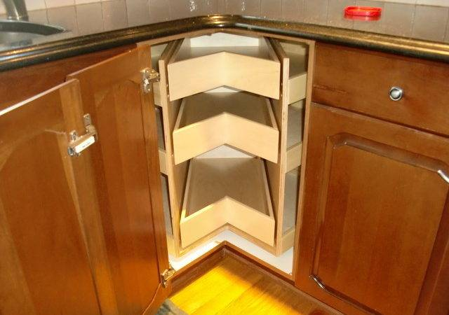 Corner Cabinet Solutions Kitchen Drawer Organizers