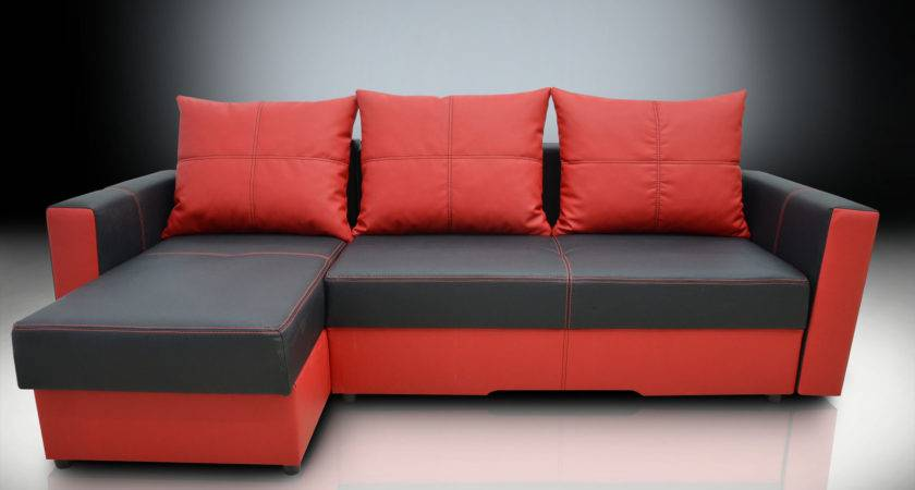 Corner Sofa Bed Bristol Bonded Leather Great Quality All