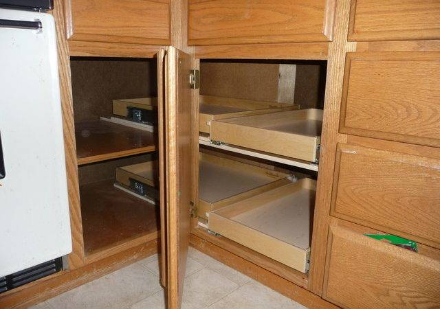 Corner Storage Cabinet Kitchen Cabinets Blind Solutions