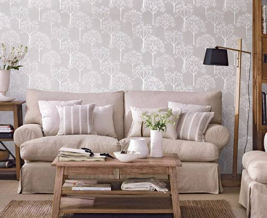 Cosy Neutral Living Room Ideal Home