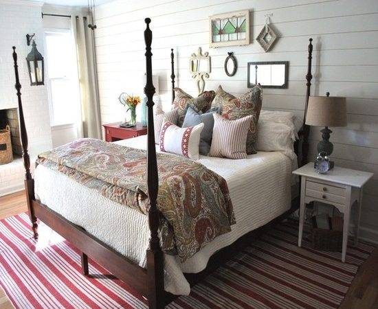 Cottage Style Master Bedroom Beautiful