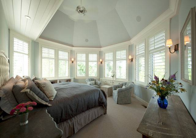 Cottage Style Meets Modern Living Transitional Bedroom