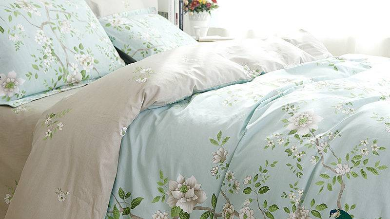 Cotton Comforter Sets French Rustic Style Bed Sheet
