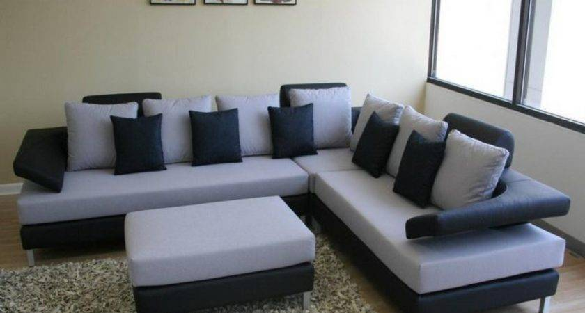 Couches Modern Brown Leather Sofa Set