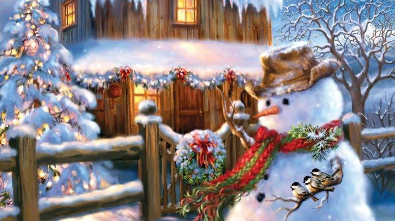 Country Christmas Jigsaw Puzzle Puzzlewarehouse