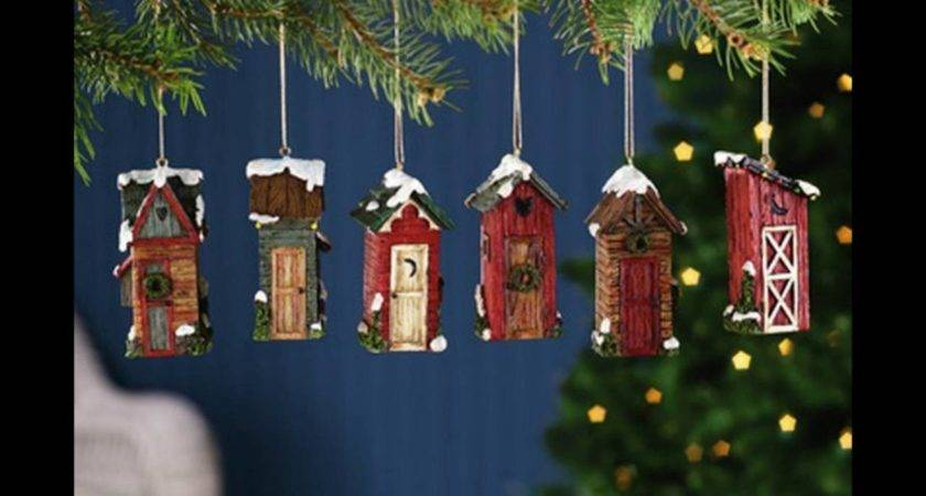 Country Christmas Ornaments Youtube