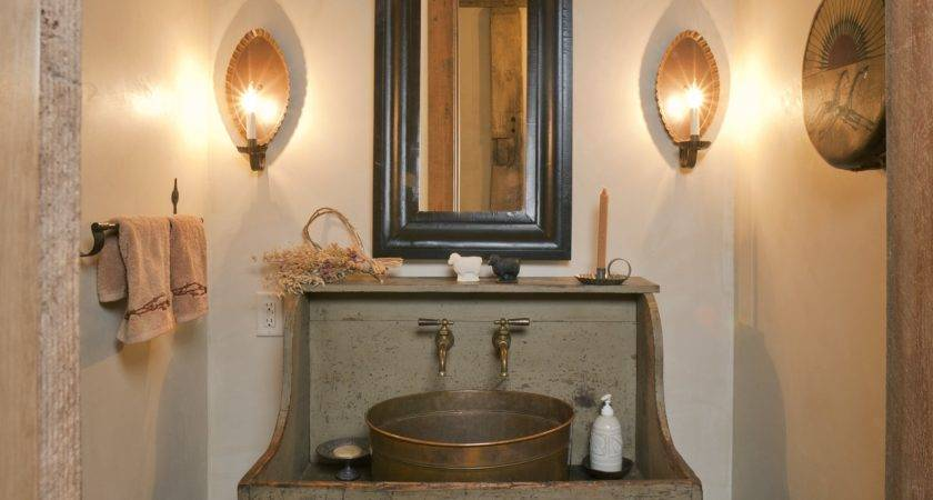 Country Rustic Bathroom Ideas Home Decorating