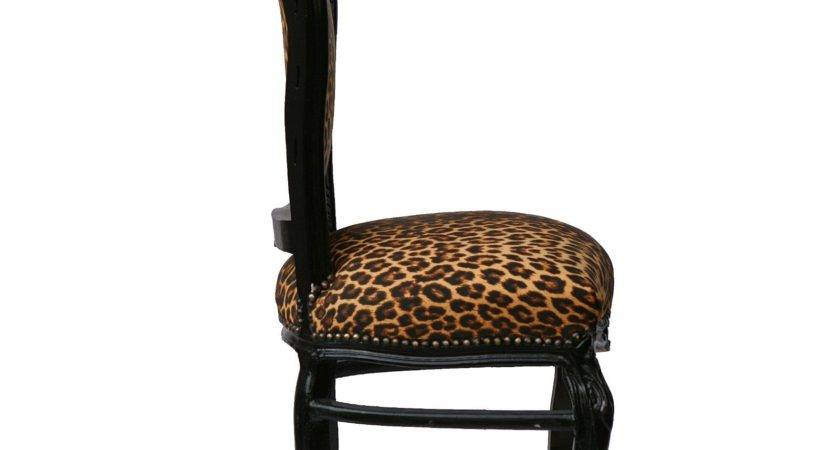 Couple Beautiful Leopard Print Solid Wood Hand Crafted