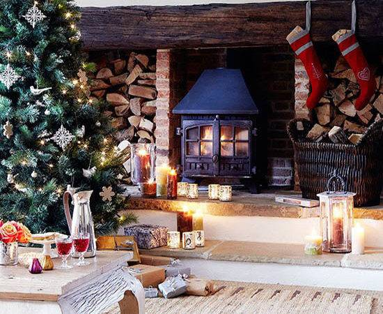 Cozy Elegant Country Christmas Decorating Ideas