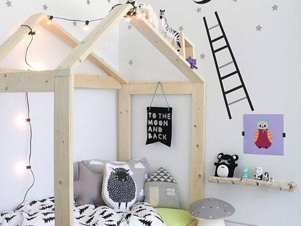 Cozy House Beds Frame Your Kids Rooms Home