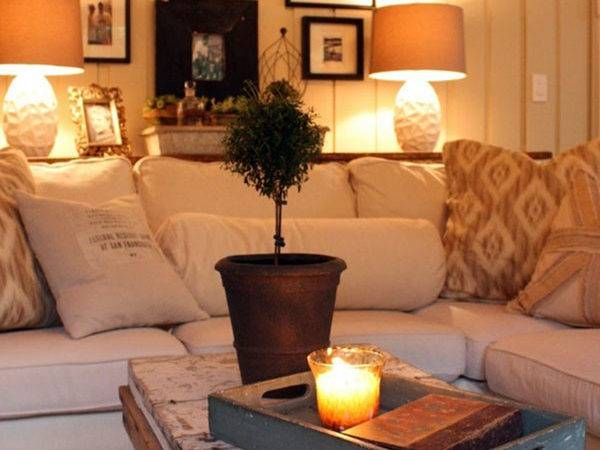 Cozy Inviting Living Room Interiors Fall Love