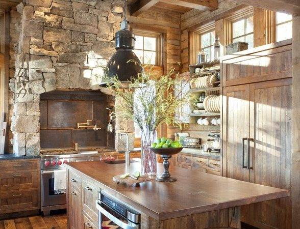 Cozy Rustic Kitchen Design Ideas Style Motivation