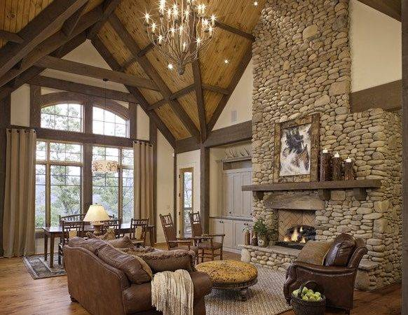 Cozy Rustic Living Room Design Ideas Style Motivation